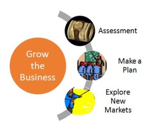 Grow the Business Diagram